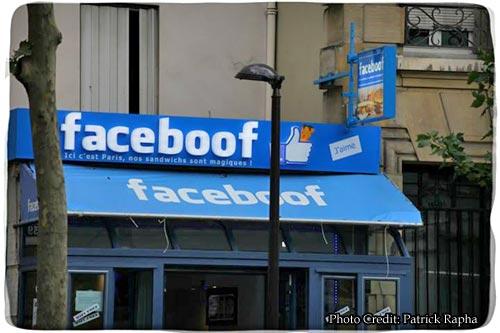 faceboof, restaurant paris