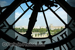 Orsay museum clock window