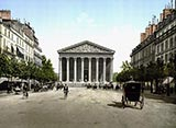 The Madeleine and Royale Road, Paris photo