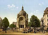 old photos of paris, St. Augustine Church