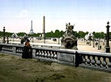 paris photos, Place de la Concorde from tuilieries park