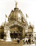 old photos of paris, Central Dome, antique paris photo