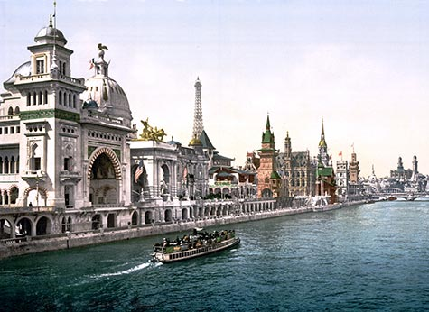 Pavilions of the Nations, bridges, River Seine, , paris