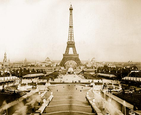 Eiffel Tower, Champ de Mars, Trocadéro Palace, , paris