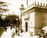 old photos of paris, Pavilion of Ecuador and Chile, paris 1900