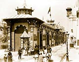 old photos of paris, Pavilions of China and Greece, paris universelle exposition 1900 photo