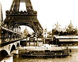 paris photos, Eiffel Tower and River Seine, paris photo
