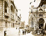 old photos of paris, Pavilion of Brazil / Argentina