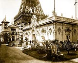old photos of paris, Society of French Pastel Artists, paris 1900