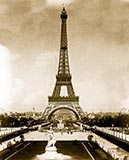 old photos of paris, Eiffel Tower, Trocadéro Palace