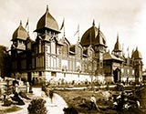 paris photos, Colonial Palace, Paris Exposition, 1889