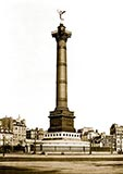 old photos of paris, Colonne de Juillet