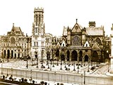 old photos of paris, Place St. Germain l'Auxerrois