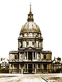 old photos of paris, Les Invalides, paris, napoleon tomb