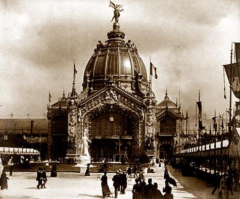 Central Dome Old Paris The Belle Epoque