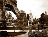 old photos of paris, Gas Pavilion, paris exhibition