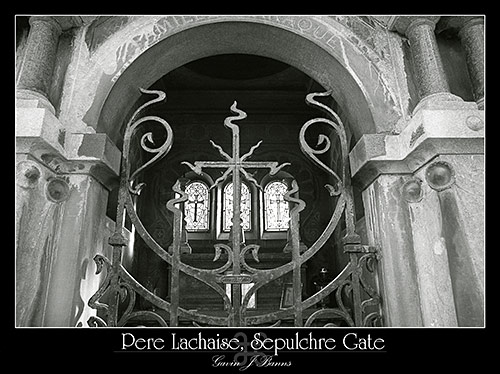 Pere Lachaise, Sepulchre Gate, paris photos, photography, france, city, capital