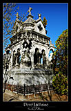 paris photos, pere lachaise cemetery, tomb