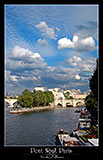 paris photography, pont neuf bridge in the summer