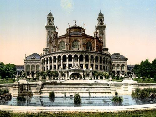 the trocadero, 1900, paris