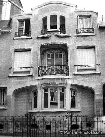 Guimard, art deco door, 16eme Paris, Cheri the movie, Michelle Pfeiffer, paris