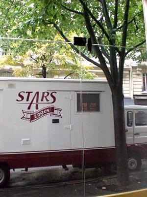stars loges, filming in paris