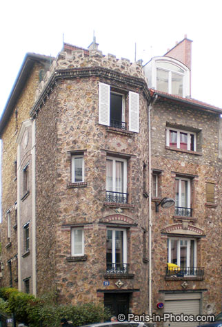 stone building, paris