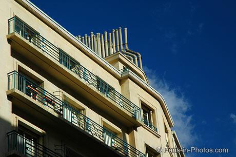 trocadero, architecture