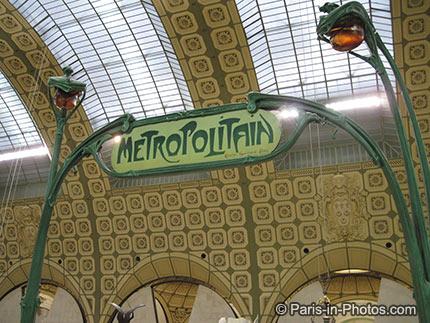 hector guimard, art nouvelle, paris, orsay museum