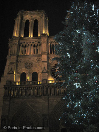 notre dame, new years, paris, 2010, jan 1st