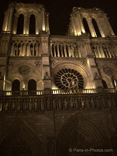 notre dame new years, paris