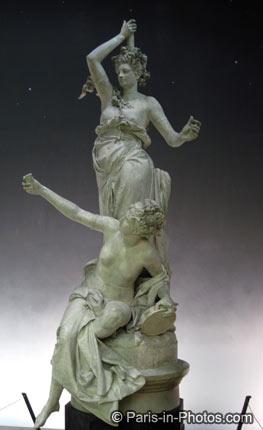 orsay museum statue, sculpture