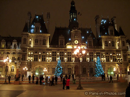 paris city hall, 2010, new years