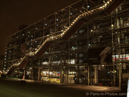 pompidou centre paris, 2010, paris new year