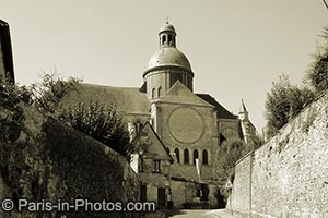 saint quiriace collegiate church provins