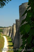 ancient city walls provins