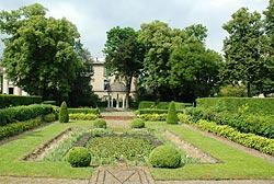 neuilly sur seine, saint-james, jardin parc