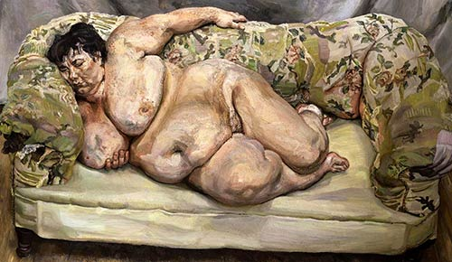 sue tilley, lucian freud painting, france, paris