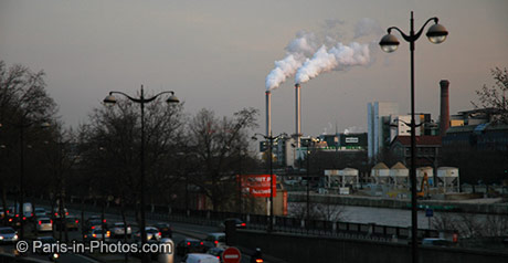 paris industry, smoke