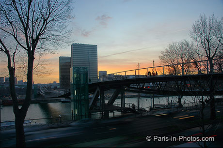 parisian sunset, printemps