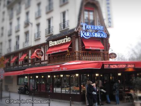 taverne karlsbrau paris, alsace restaurant, choucroute garnie, alsacian