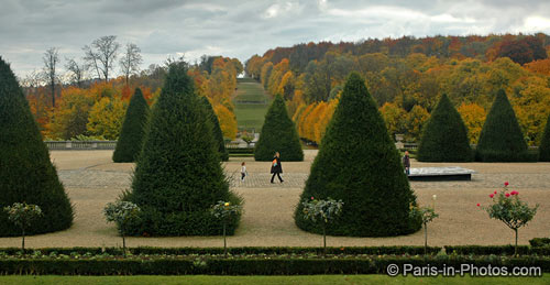 saint cloud park, paris