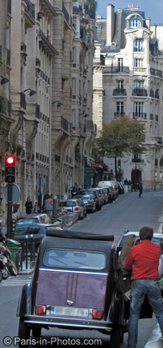 rue george sand, paris, 75016