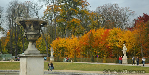 paris autumn colours, parc de saint-cloud, saint cloud park