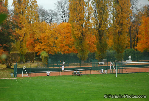 saint cloud park, tennis courts, paris