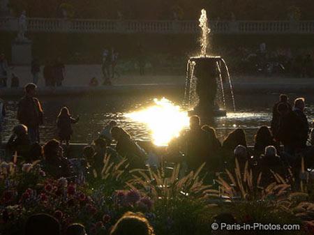 boating pond, jardin du luxembourg