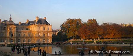 french senate, jardin du luxembourg
