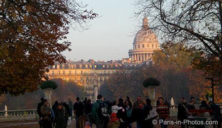 jardin du luxembourg, paris, pantheon, latin quarter
