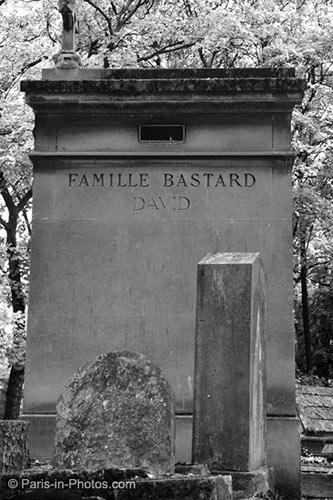 bastard, pere lachaise, surname bastard