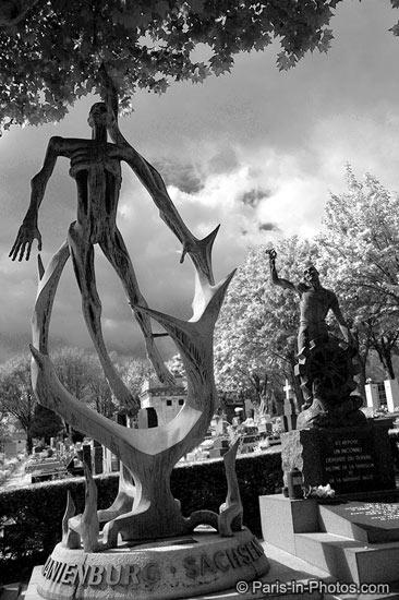 holocaust memorial, pere lachaise